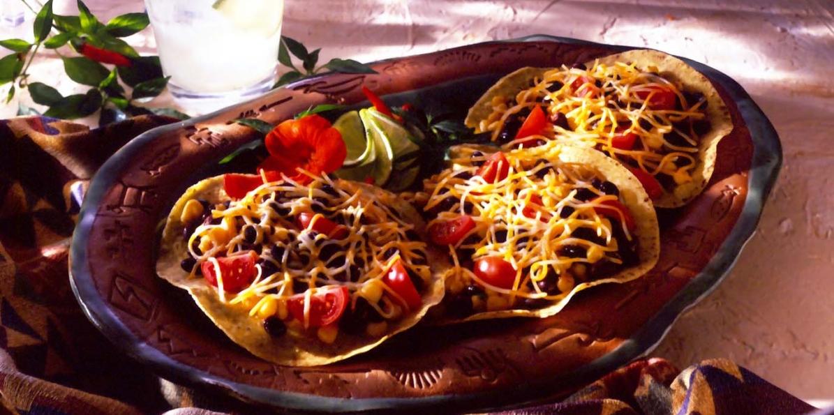 Open-Faced Quesadillas