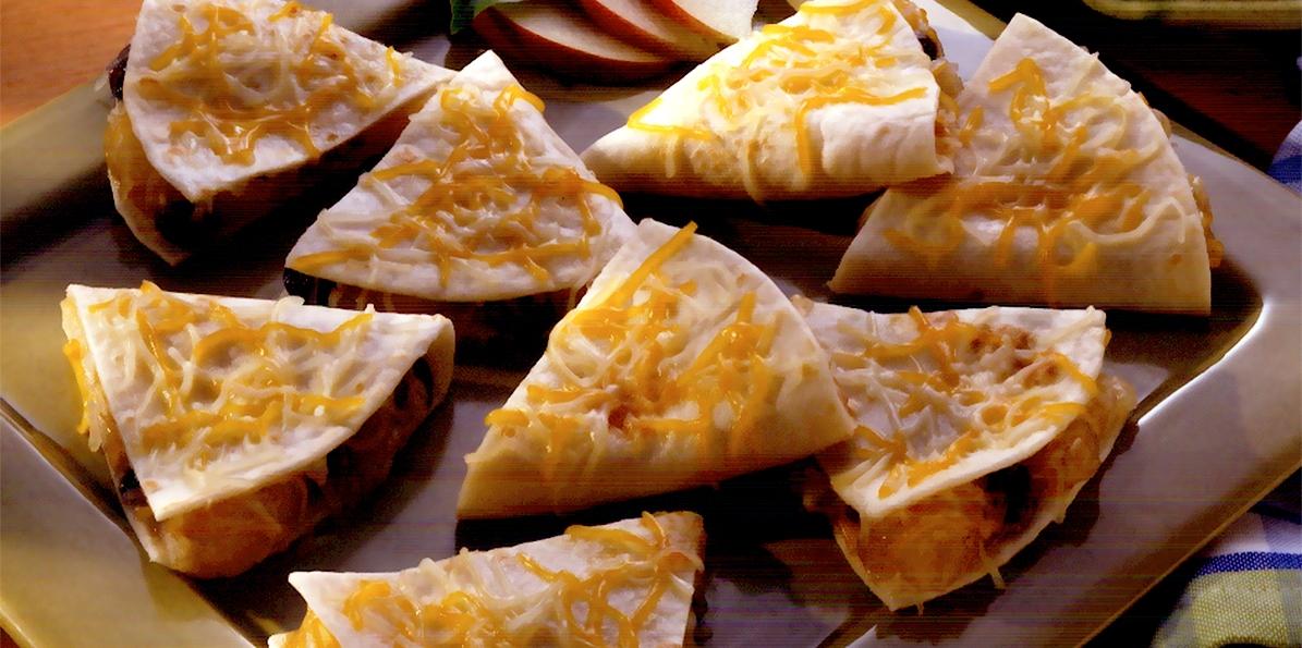 Apple Pie Quesadillas