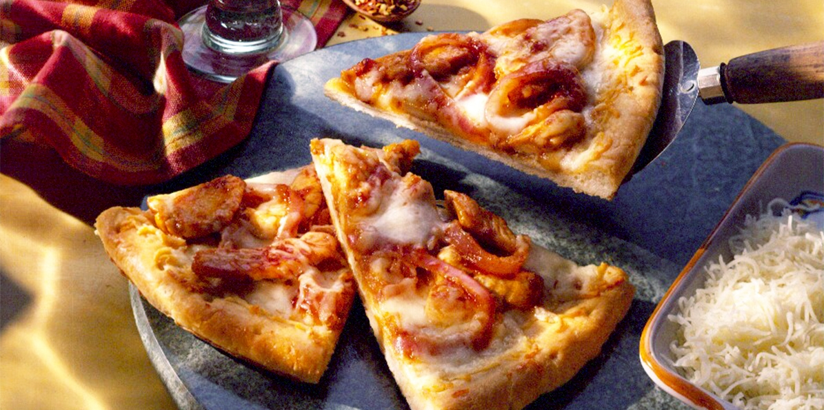 Easy Cheesy Barbecue Pizza