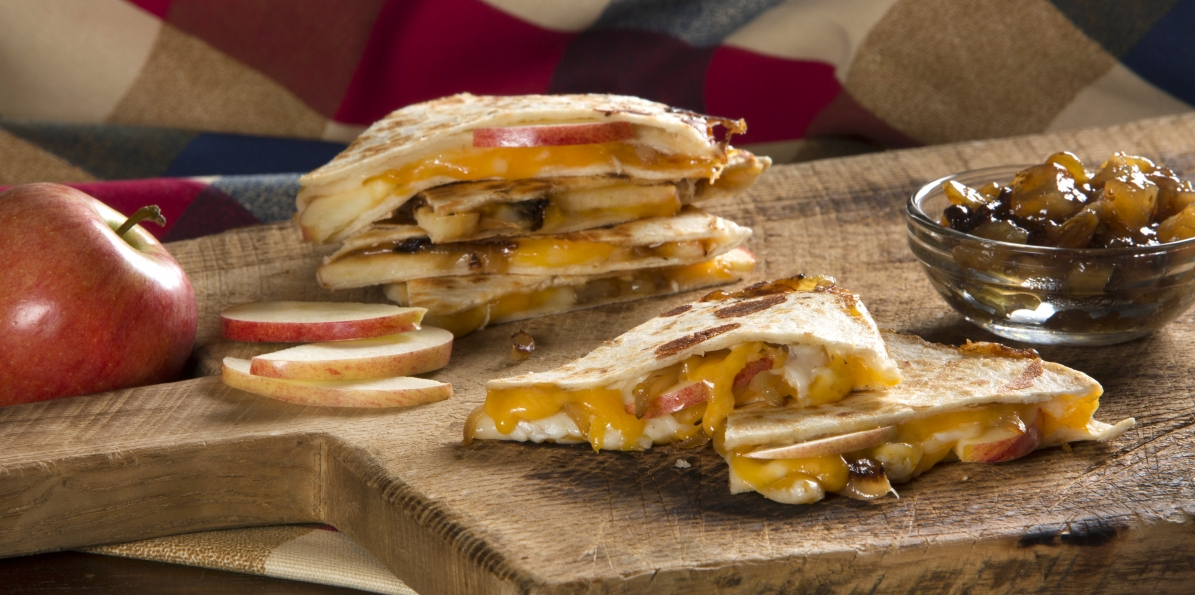 Apple Cheddar Quesadilla