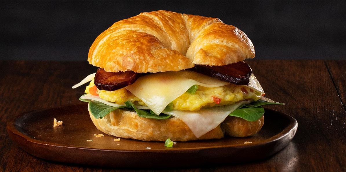 Denver Omelet Asiago Breakfast Sandwich