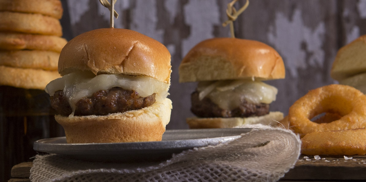 Stuffed Brat Slider