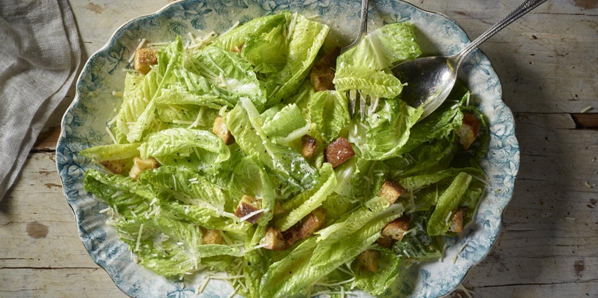 Caesar Salad & Fancy Parmesan