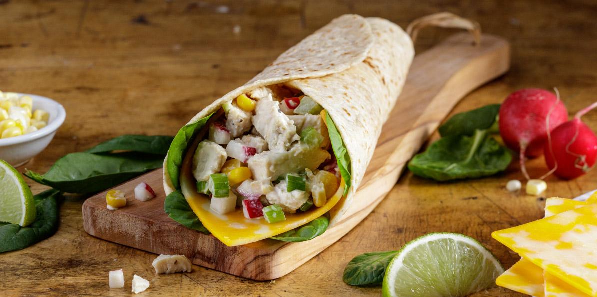 California Chicken Salad Wrap