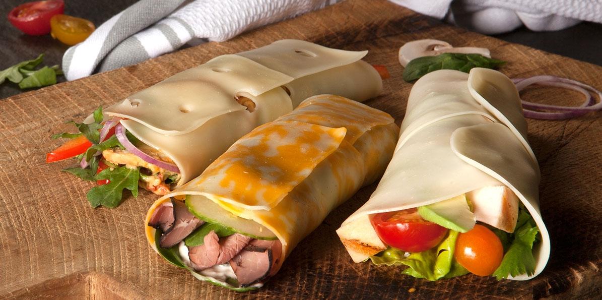 Cheese Wraps 3 Ways
