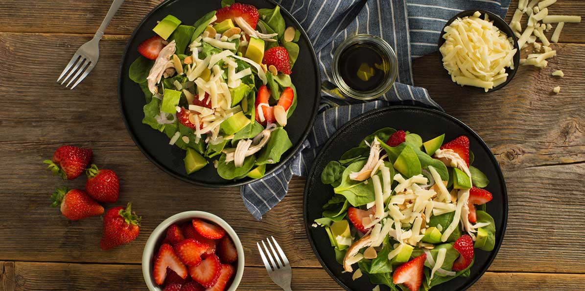 Chicken and Strawberry Balsamic Salad