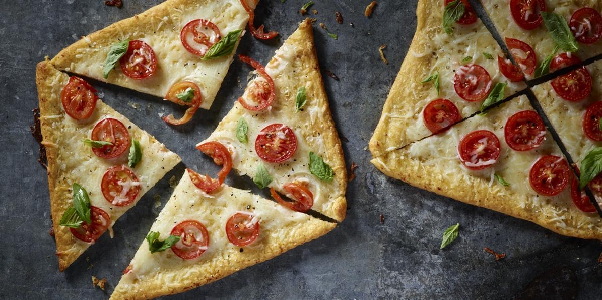 Easy Caprese Personal Pizzas