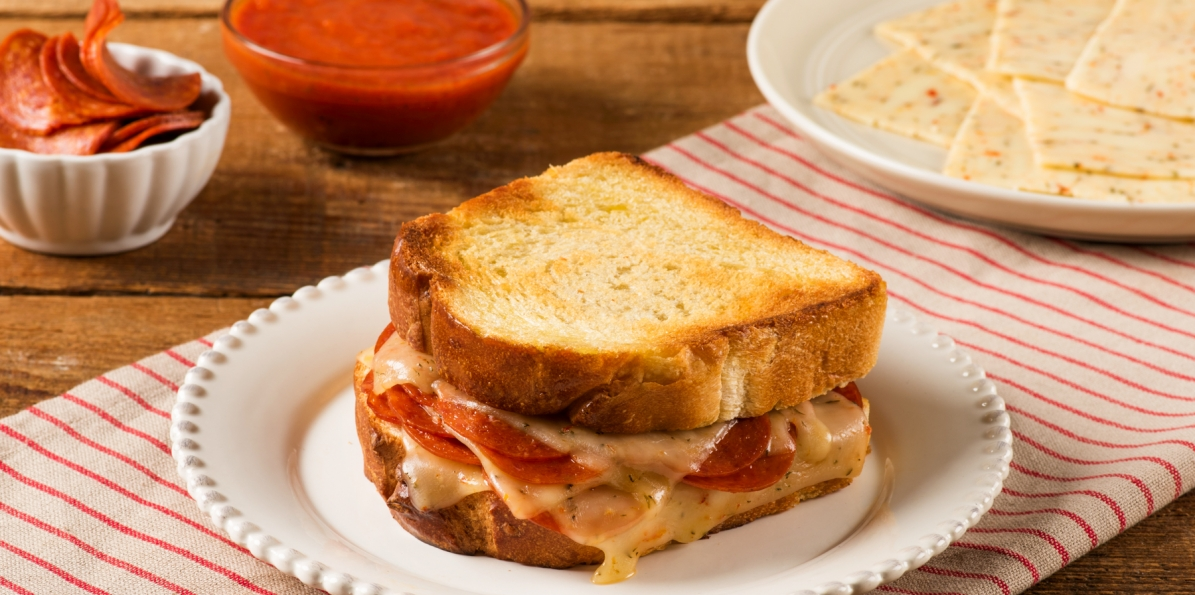 Italian Pepperoni Grilled Cheese