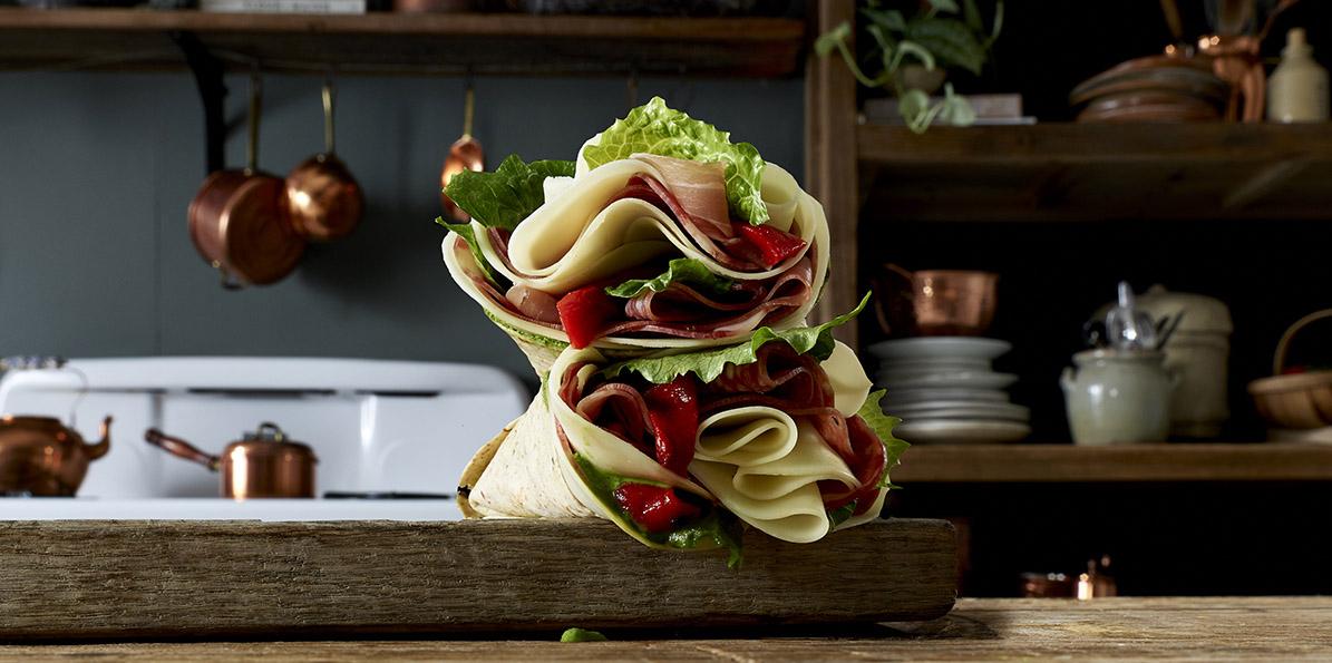 Salami & Prosciutto Italian Wrap