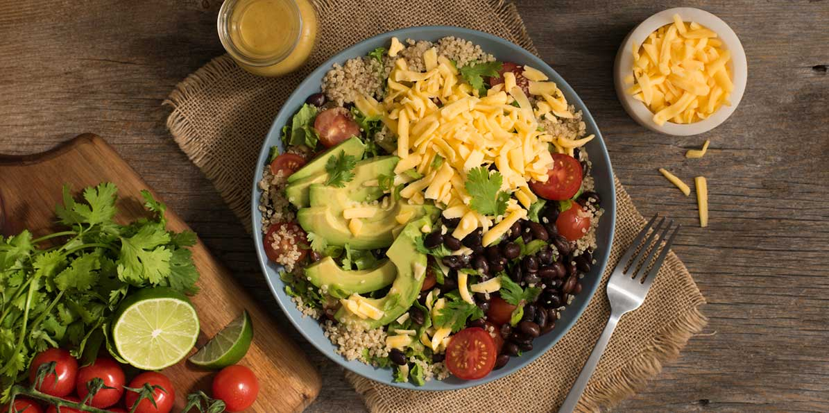 Loaded Quinoa Burrito Bowls