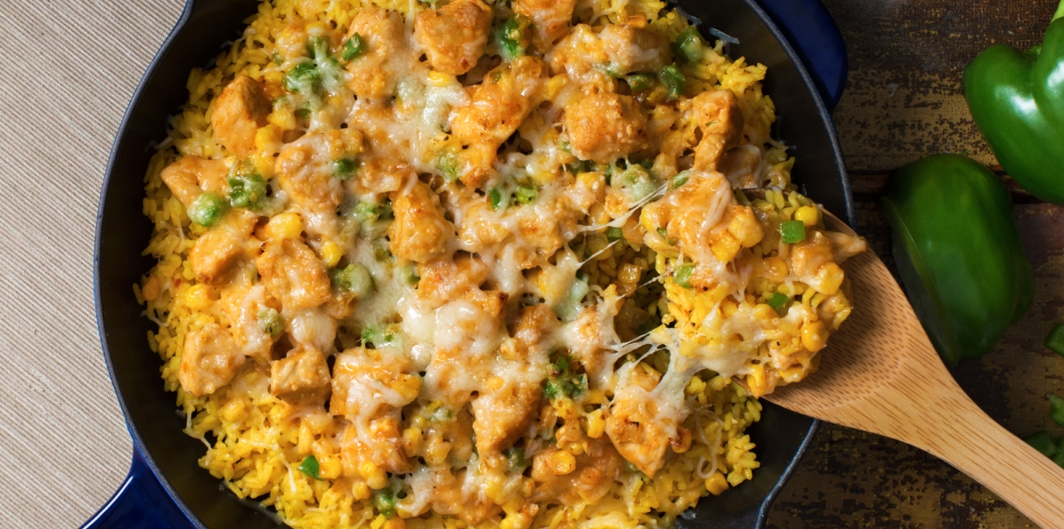 Mexican Chicken Rice Recipe Sargento Shredded 4 Cheese Mexican