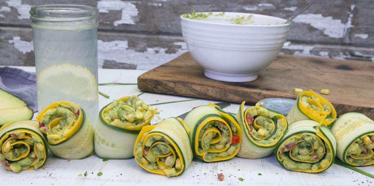 Mild Cheddar Cucumber Rollup