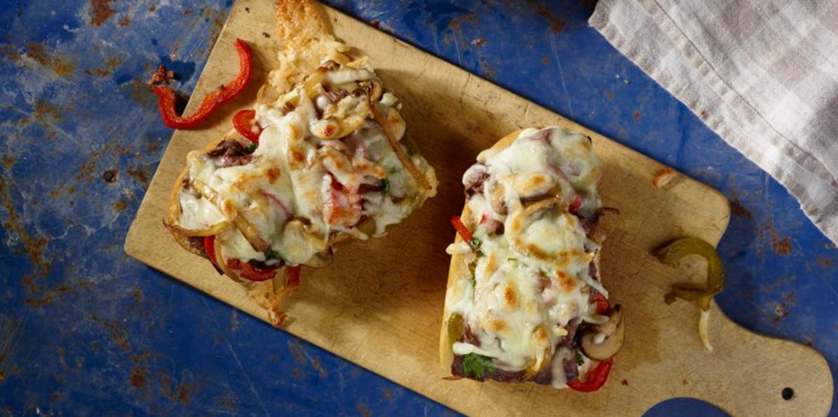 Roast Beef & Pepper Sandwiches