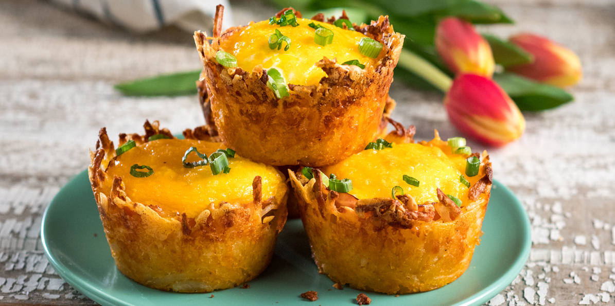 Cheesy Egg Nests