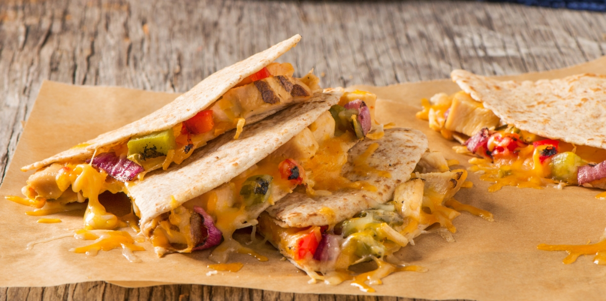 Mexican Chicken Quesadilla Sargento Shredded Pepper Jack Cheese