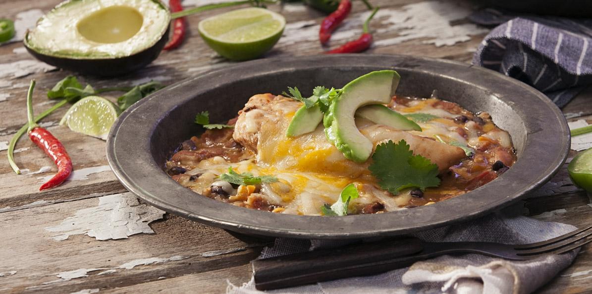 Tex-Mex Chicken Dump Dinner
