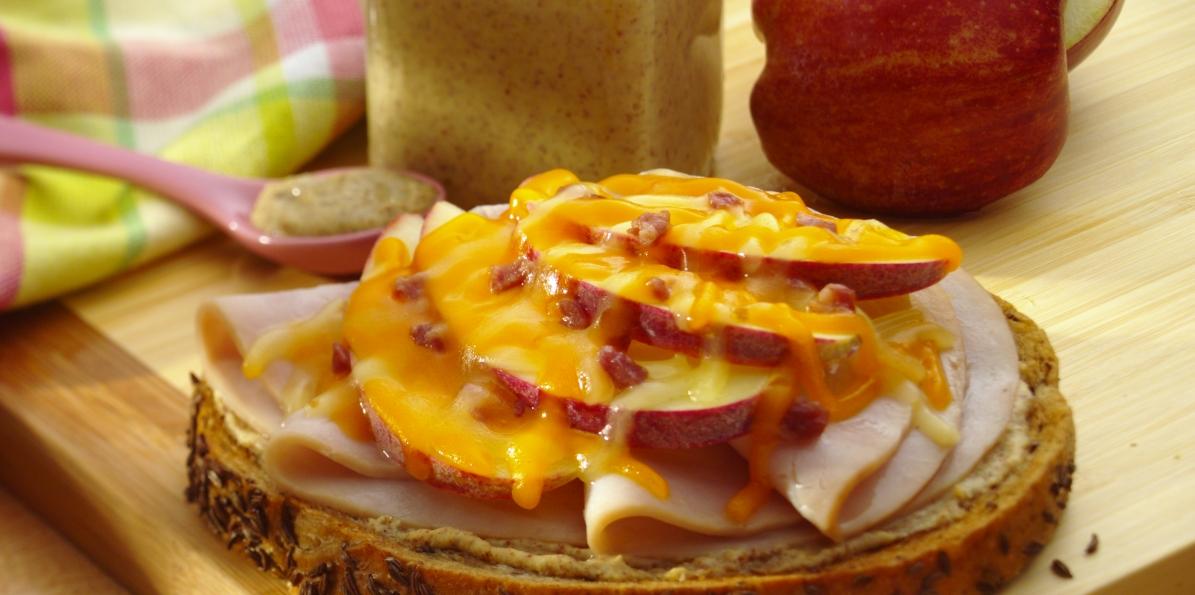 Turkey Cheddar & Bacon Melts