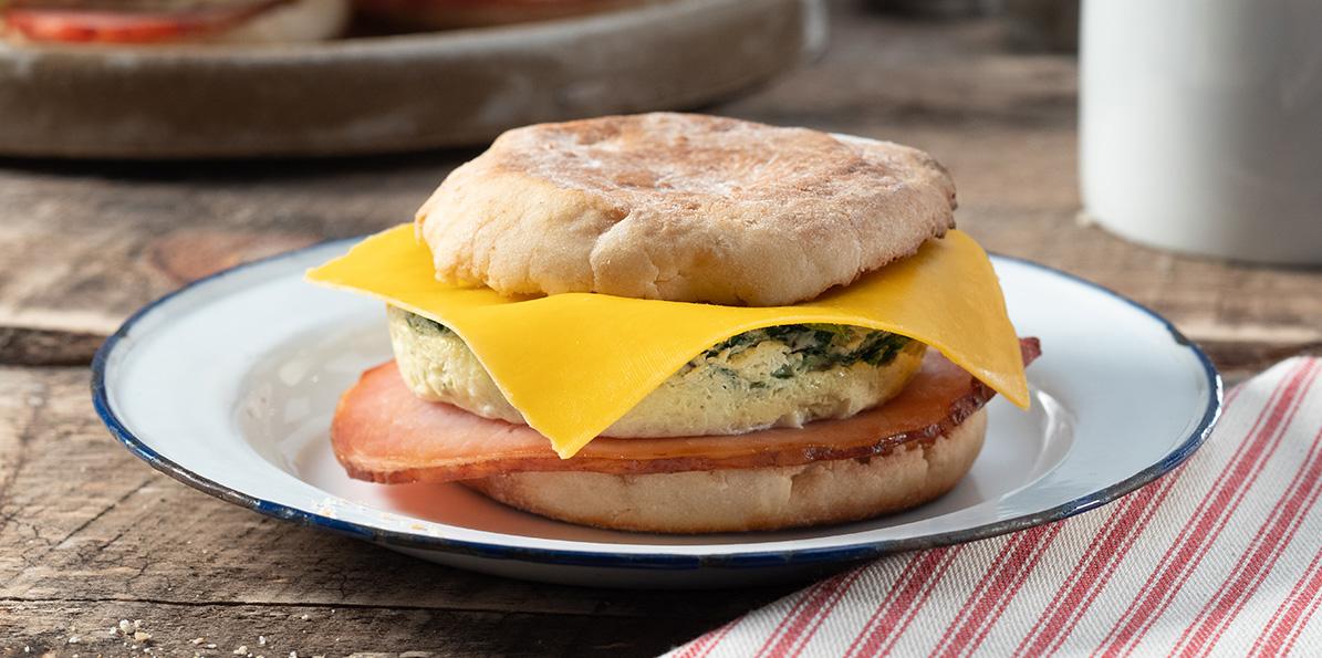 Good For You Breakfast Sandwich