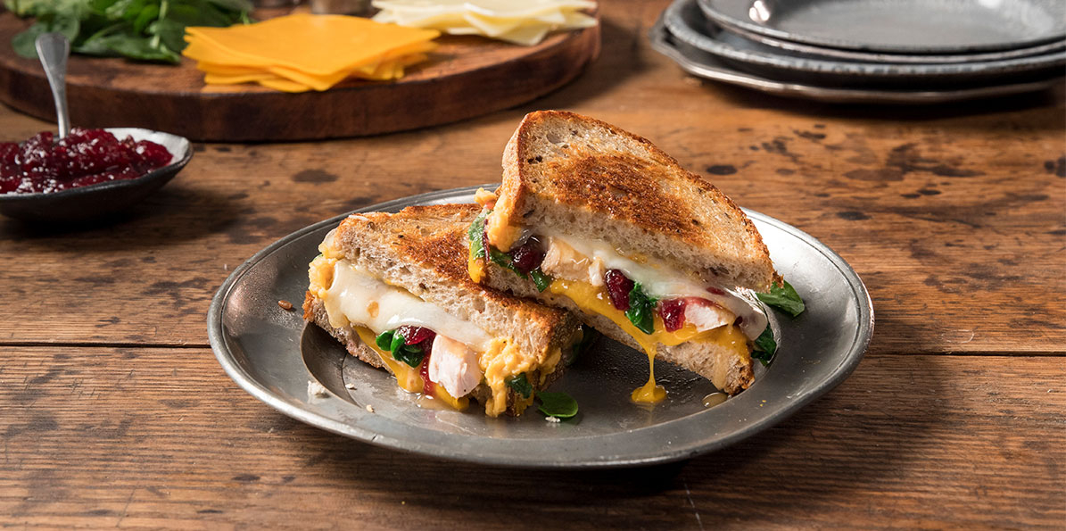 Ultimate Holiday Grilled Cheese