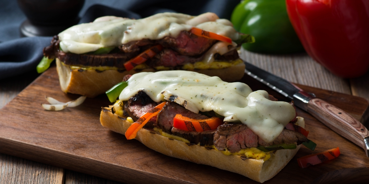 Ultimate Open-Face Steak Sandwich