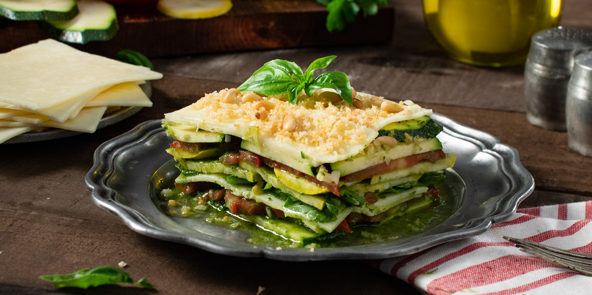 Vegetable Lasagna Salad