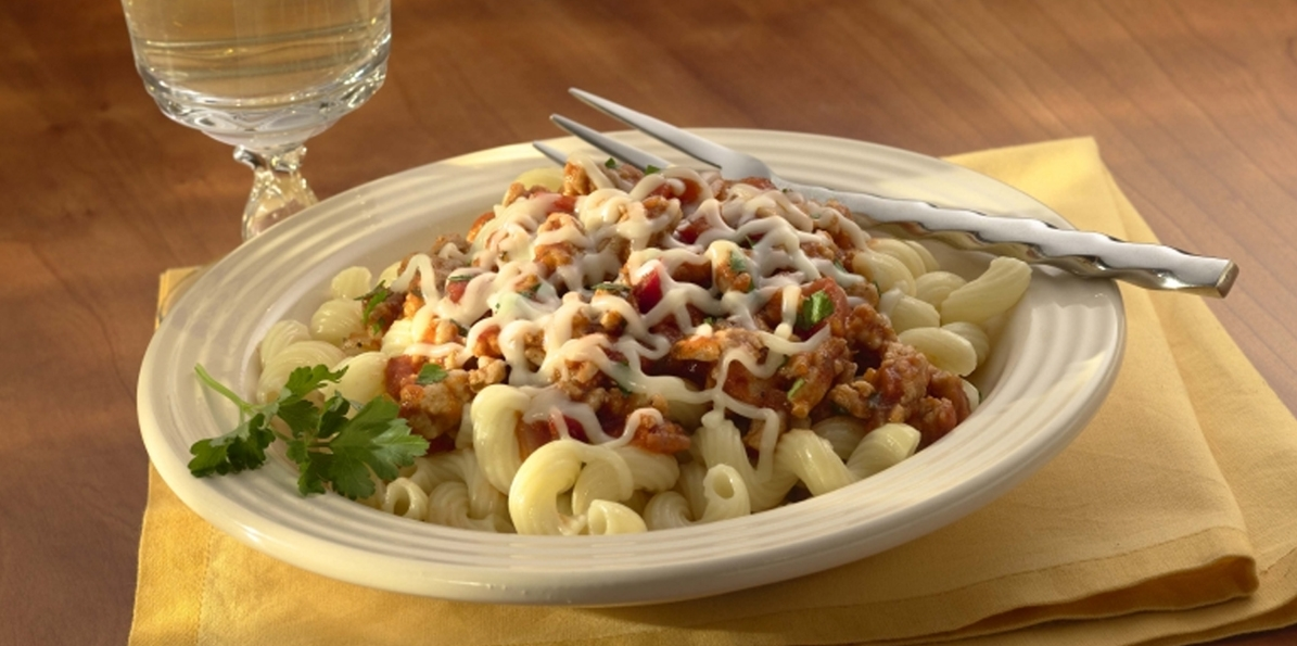 Cavatappi with Chicken Ragu