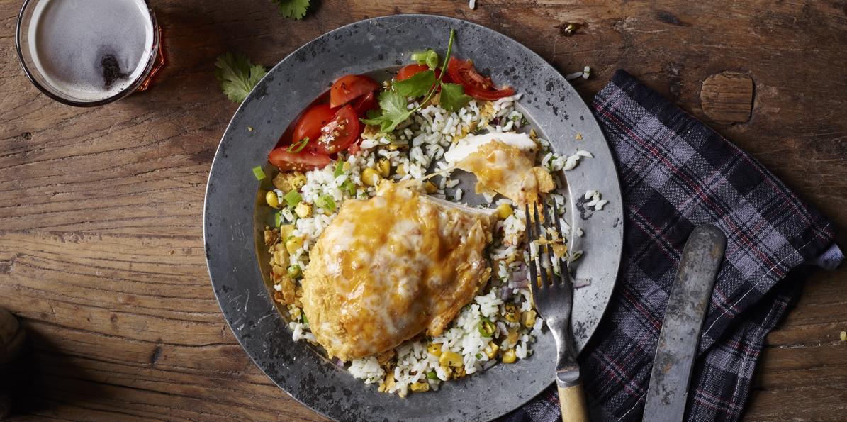 Crispy Mexican Chicken
