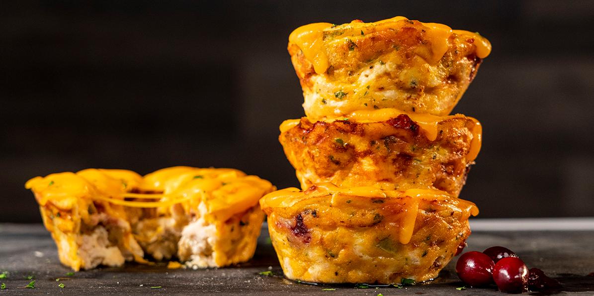 Thanksgiving Leftover Egg Muffins