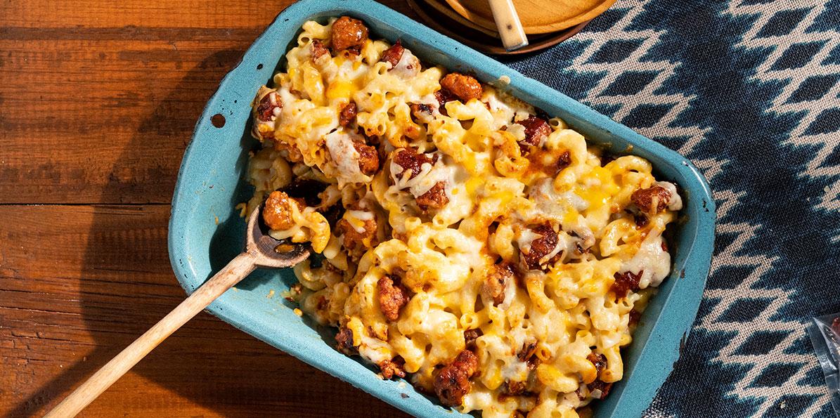 Diablo Chicken Mac & Cheese