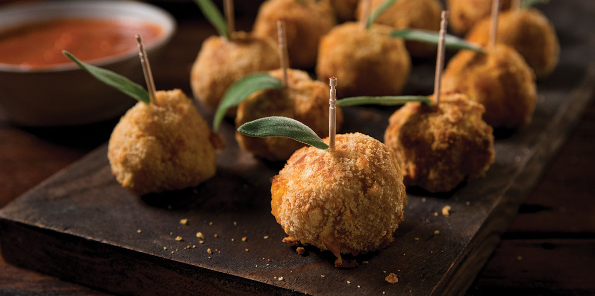 Squash Mac & Cheese Balls