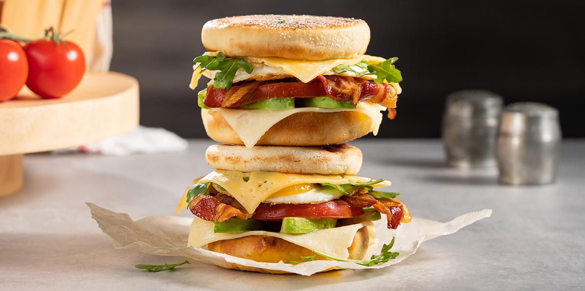 Aged Cheddar Breakfast Sandwich